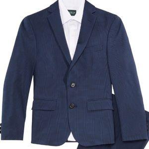 Ralph Lauren Blue Plaid Suit Blazer Men's Small